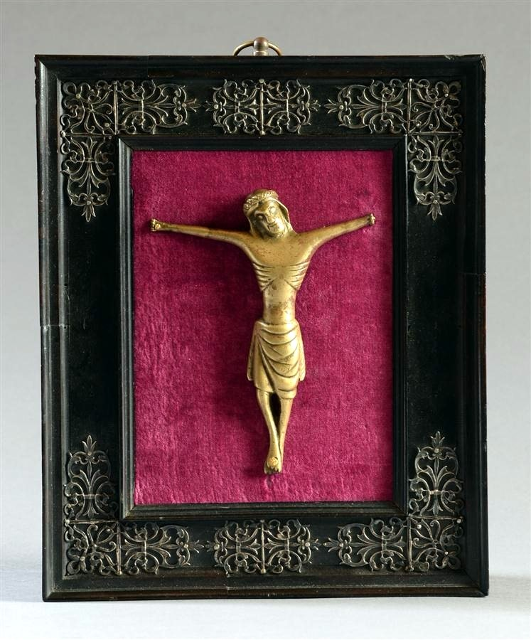 Christ en bronze vers 1400